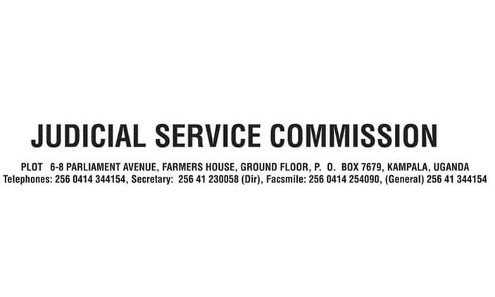 Judicial Service Commission Uganda Jobs