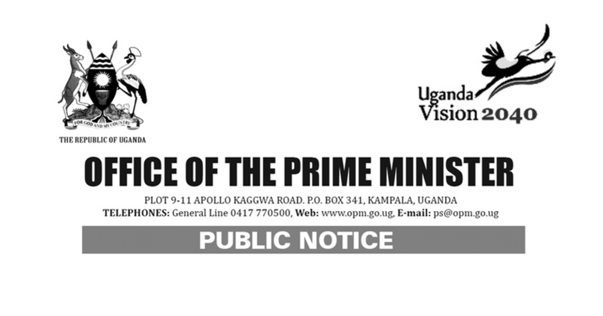 OPM Uganda Jobs 2019